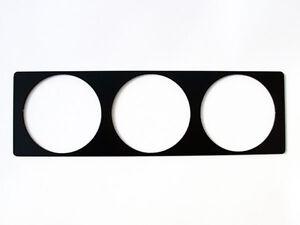 DIN-Zusatzinstrumente-3-VDO-Radioschacht-Blende-Radio-Rahmen-VW-Golf-16V-G60-VR6