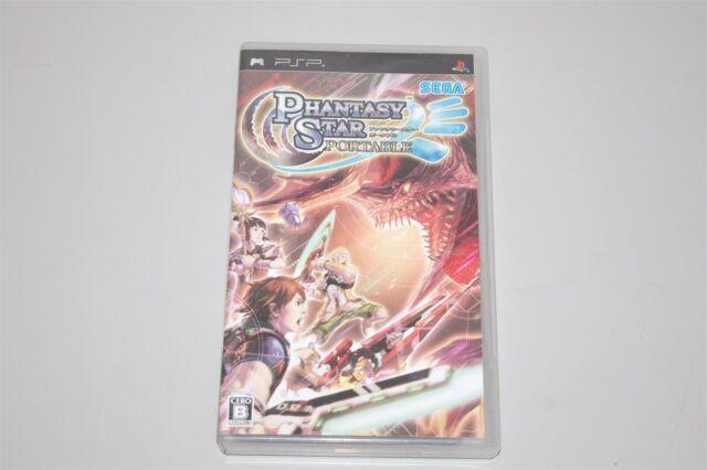 Phantasy Star Portable Japan Sony PSP game