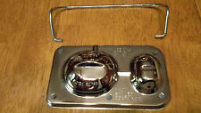 Gm Chevy Master Cylinder Cover With Bail Brake Cap Bendix Chrome 58