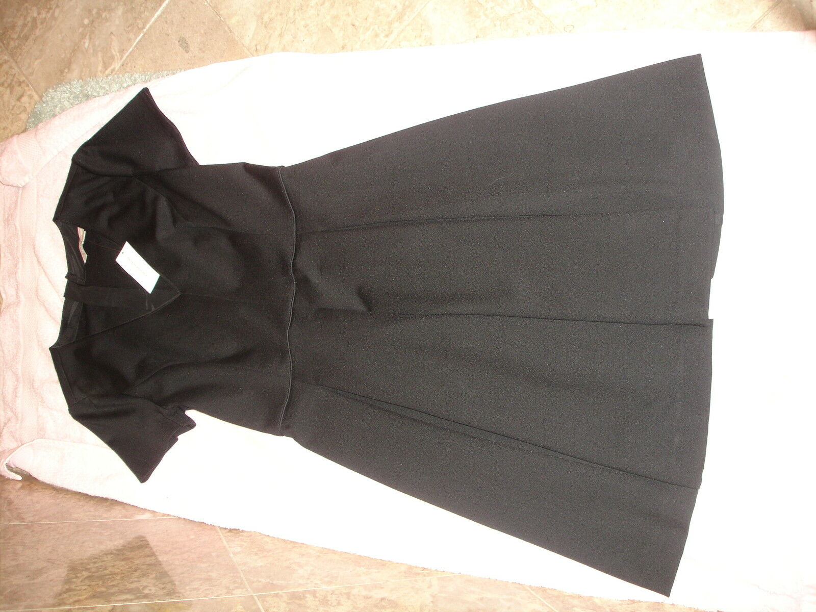 Banana Republic schwarz fit and flare dress  NWT 6 New Sexy wedding