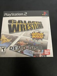 Galactic-Wrestling-Demo-Disc-PlayStation-2-PS2-RARE-NFRS-SEALED