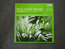 The New Music Vol. 2: Boulez, Haubenstock, Ramati, Maderna Rome Orchestra LP