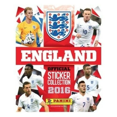 Official Panini England 2016 Sticker Starter Pack NEW /& SEALED UK