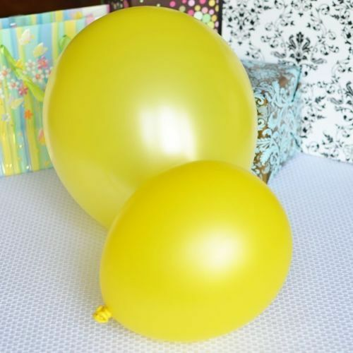 """Birthday Party Decorations Range of 16 COLOURS in 10/"""" Inch Latex Balloons"""