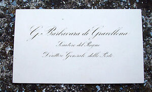 1875-160-MANOSCRITTO-DEL-SENATORE-GIOVANNI-BARBAVARA-DI-GRAVELLONA-POSTE-REGNO