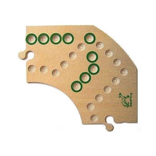 Brändi Dog-Réparation Segment-plateau de jeu-vert