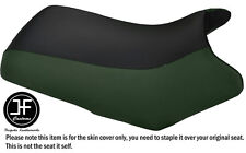 DARK GREEN & BLACK VINYL CUSTOM FITS YAMAHA BEAR TRACKER 250 SEAT COVER
