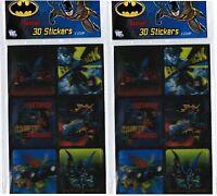 2 Packs Batman Lenticular 3d Stickers Caped Crusader Gotham City