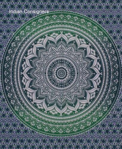 Cor Verde pôster Tapeçaria Têxtil Pendurar Parede Pequeno colagem de algodão Maravilhosa
