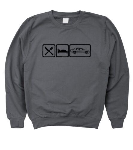 5XL Motorholics Mens Eat Sleep Ford Sierra Sapphire Cosworth Sweatshirt S
