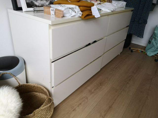 Kommode, andet materiale, Ikea