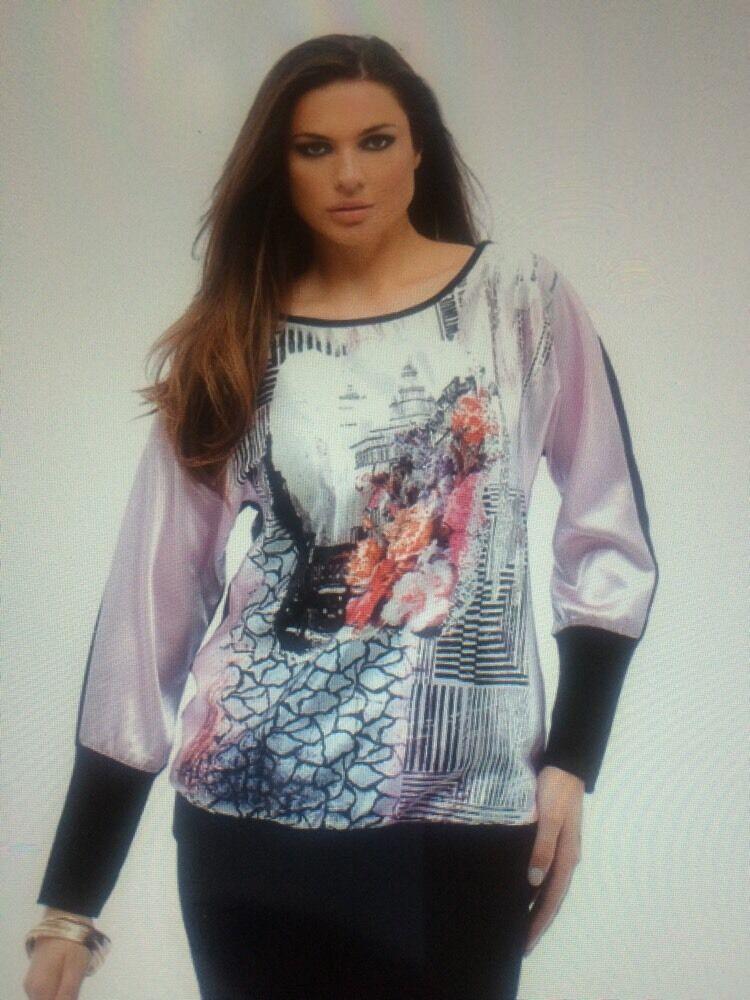 Rinatti damen Sweater Blouse   Größe XL