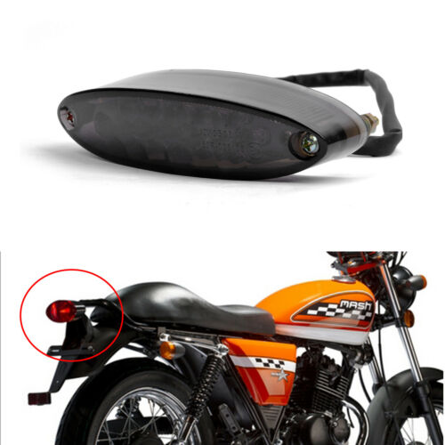 LED Brake Stop Running Tail Light Universal 12V For Motorcycle Dirt Bike Street
