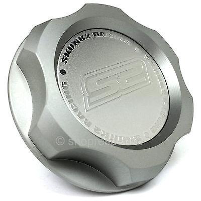 Skunk2 Billet Oil Cap Silver Fits Nissan / Infiniti M33x2.8 626-99-0070 Genuine