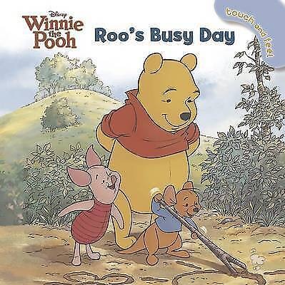"""VERY GOOD"" Disney Winnie the Pooh Roo's Busy Day - Touch and Feel (Disney Touch"