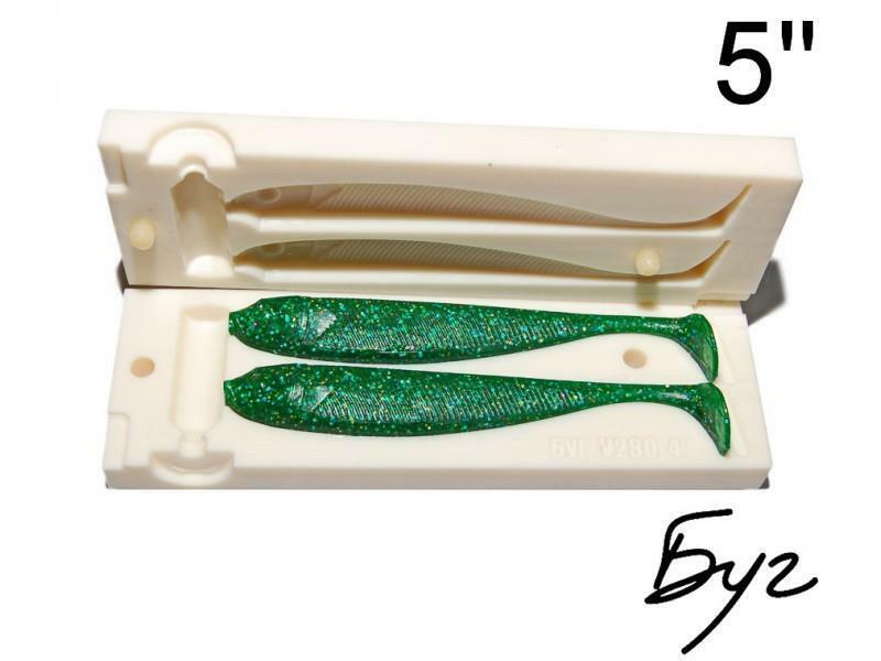 Plastic Stone Bait Vibro Tails  Fishing Molds Injection Making Mold Soft Lure New  zero profit