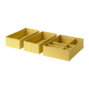 ikea beckis schublade aufbewahrung organizer boxen passt 3er set neu ovp ebay. Black Bedroom Furniture Sets. Home Design Ideas