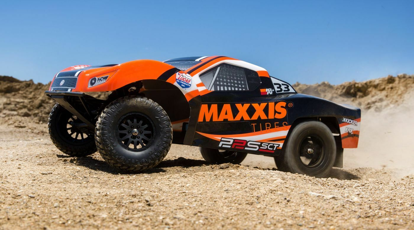 1 10 22S Maxxis 2WD SCT Brushless RTR with AVC (LOS03013T1)