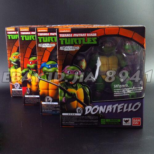 6/'/' SHF Teenage Mutant Ninja Turtles TMNT Action Figure 4pcs set NIB CHINA VER