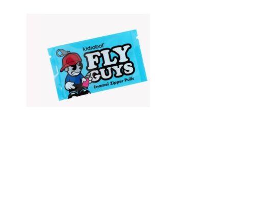 Kidrobot Fly Guys ENAMEL ZIPPER PULL SERIES 1inch Blind Box