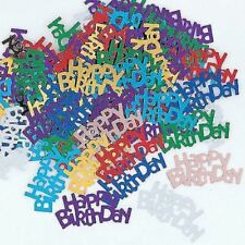 Happy Birthday Multi Coloured Party Confetti Sprinkles Table Decoration 14g
