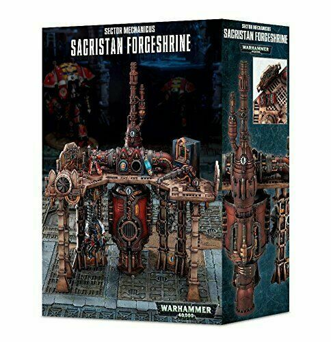 Games Workshop Warhammer 40K Sector Mechanicus Sacristan Forgeshrine GAW  64-74