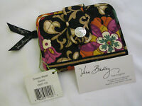 Vera Bradley Suzani Snappy Wallet Coin Clutch For Purse Tote Backpack Bag