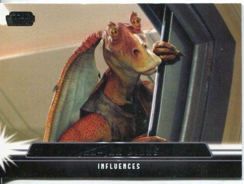 Star Wars Jedi Legacy Influencers Chase Card I-6 Jar Jar Binks