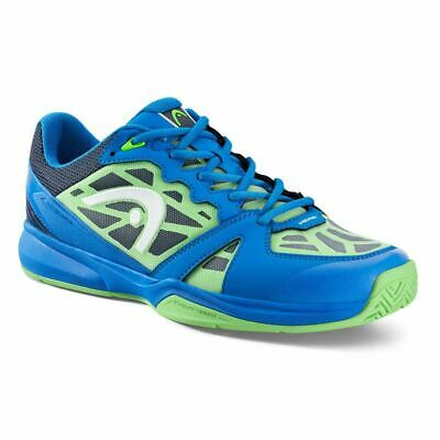 Shoes & Trainers Gentle Head Mens Revolt Indoor Shoes Badminton blue/neon Green