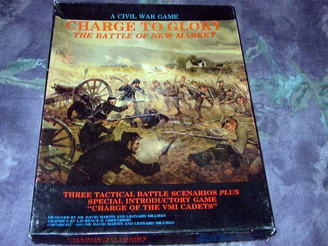 Civil War Game 1993 - Charge to Glory - The Battle of New Market (UNPUNCHED)