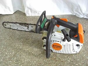 stihl ms192tc professional in tree climbers climbing chainsaw ms 192 192t 192t ebay. Black Bedroom Furniture Sets. Home Design Ideas