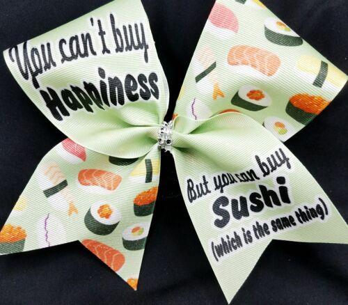 Sushi Cheer Bow