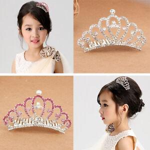 BL-Wedding-Prom-Baby-Girl-Kid-Tiny-Rhinestone-Crown-Hair-Comb-Sweet-Tiara-Hot-S