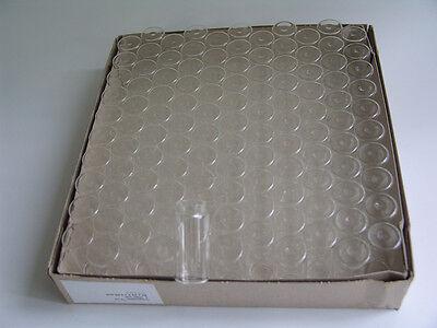 Drageeglas 115 Stück auch f. Globuli + Dragee Mini Reagenzgläser Gastgeschenk