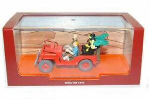Voiture-Vehicule-Jeep-WILLYS-MB-1943-HERGE-TINTIN-AU-PAYS-DE-L-039-OR-NOIR-Box-Diecast