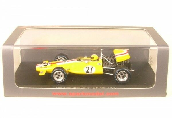 McLaren M7C no.27 US GP Formula 1 1970 (Jo Bonnier)