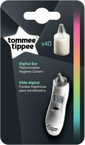 Digital Ear Thermometer Covers Tiny Tip Body Temperature Newborns Baby 40 Refill