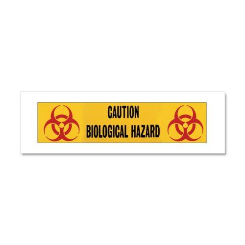 805107263 Magnetic Bumper Sticker CafePress Biohazard Car Magnet 10 x 3
