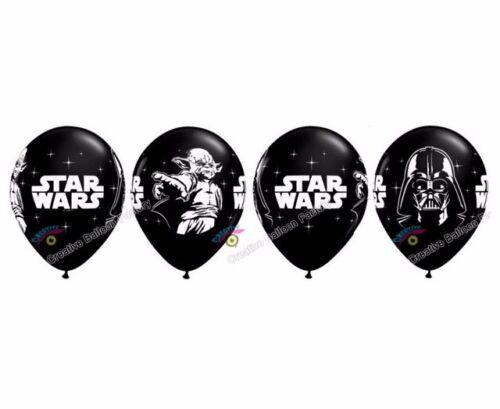 "12/"" Star Wars Darth Vader Storm Trooper Yoda Latex Balloons Party Decor.UK STOCK"