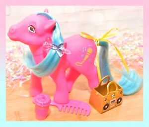❤️My Little Pony MLP G1 Vtg MELODY 7 Seven Tales Pony UK Euro Exclusive Music❤️