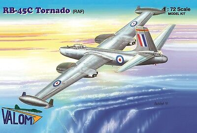 Valom Models 1/72 North American RB-45C Tornado Royal Air Force (RAF) Model Kit