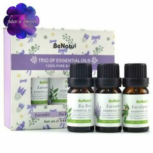 3-Pack-Essential-Oils-10-mL-100-Pure-and-Natural-Tea-Tree-Lavender-Eucalyptus