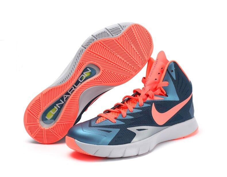Nike hyperquickness lunare basket scarpa Uomo sz 10 11 12 blu mango 652777 480