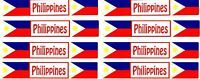 Travel Title Scrapbook Stickers Philippines 8 Sheets