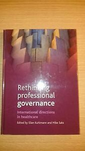 Rethinking-Professional-Governance-International-D-Ex-Library-Book-very-good