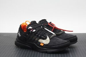 Nike Air Presto x OFF-WHITE Black AA3830-002 Size 11 LIMITED 100 ... a551fd908