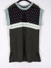 NWT Roberto Just Cavalli Sweater Dress Arm Gloves Size 44 EURO, 10 US Large
