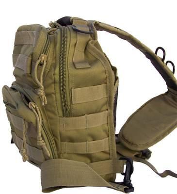 Bolso bandolera verde  rojo casual mochila hombro 10 Litros viaje caza militar