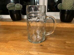 2 Pint Glass Classic Beer Tankards Beer Mugs German Beer Stein Glass 2 Pint