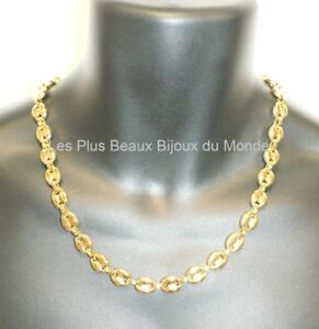 collier homme or